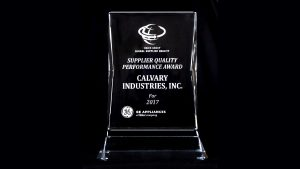 GE Quality Performance Award